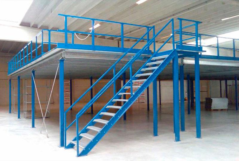 антресольный этаж металлокаркас
